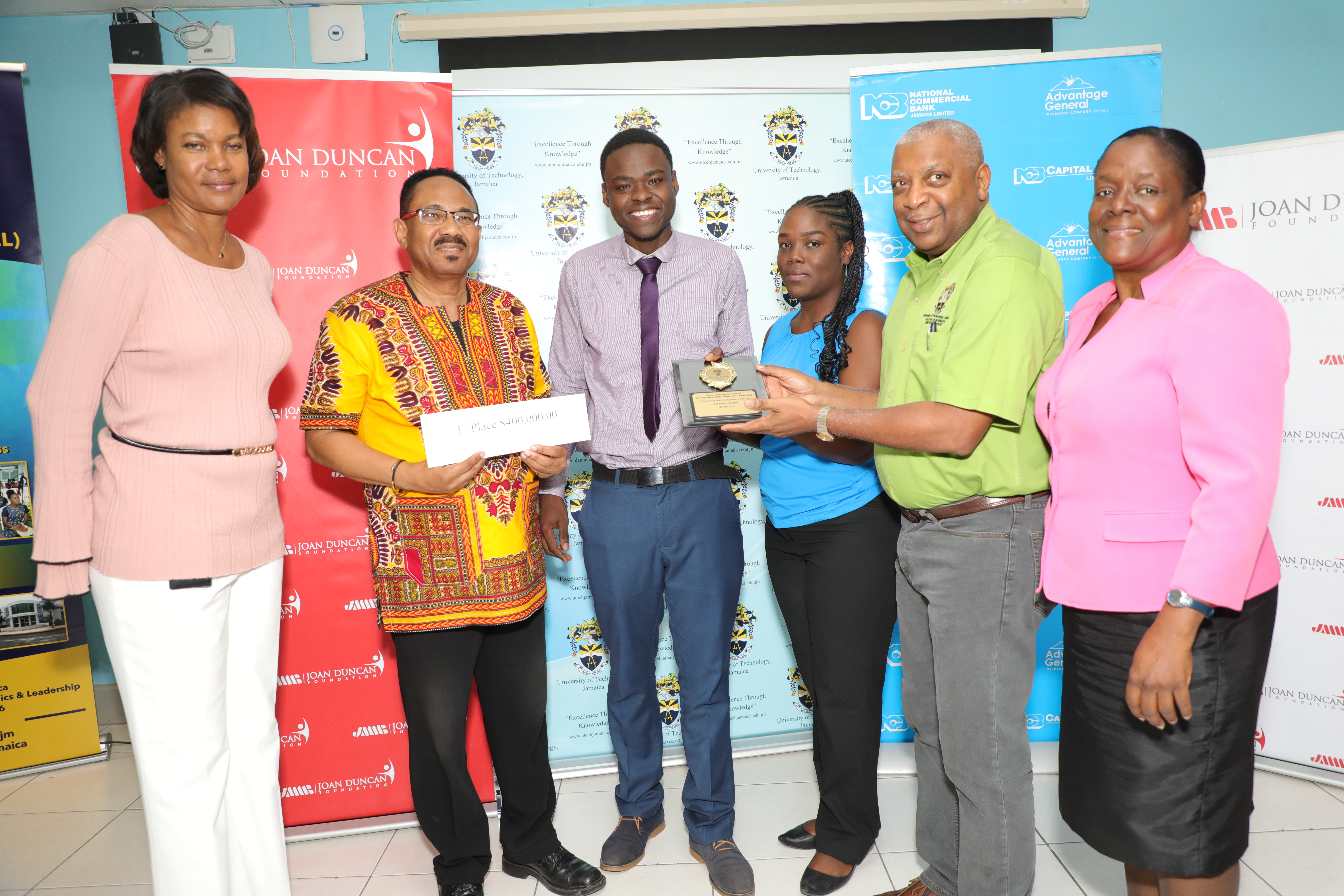 Team 3D Shopper Wins 5th Annual UTech, Jamaica  Business Model Competition