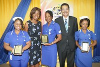 UTech, Jamaica Nursing Students Earn Their Stripes at Annual Striping Ceremony
