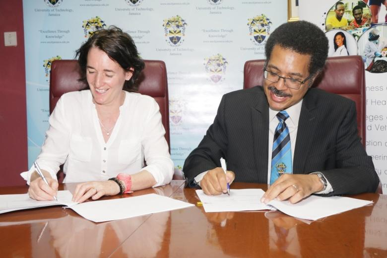 PUMA supports UTech, Jamaica Knights