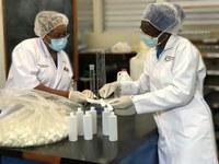 UTech, Ja. Team Develops Hand Sanitizer in Response to COVID-19 Pandemic