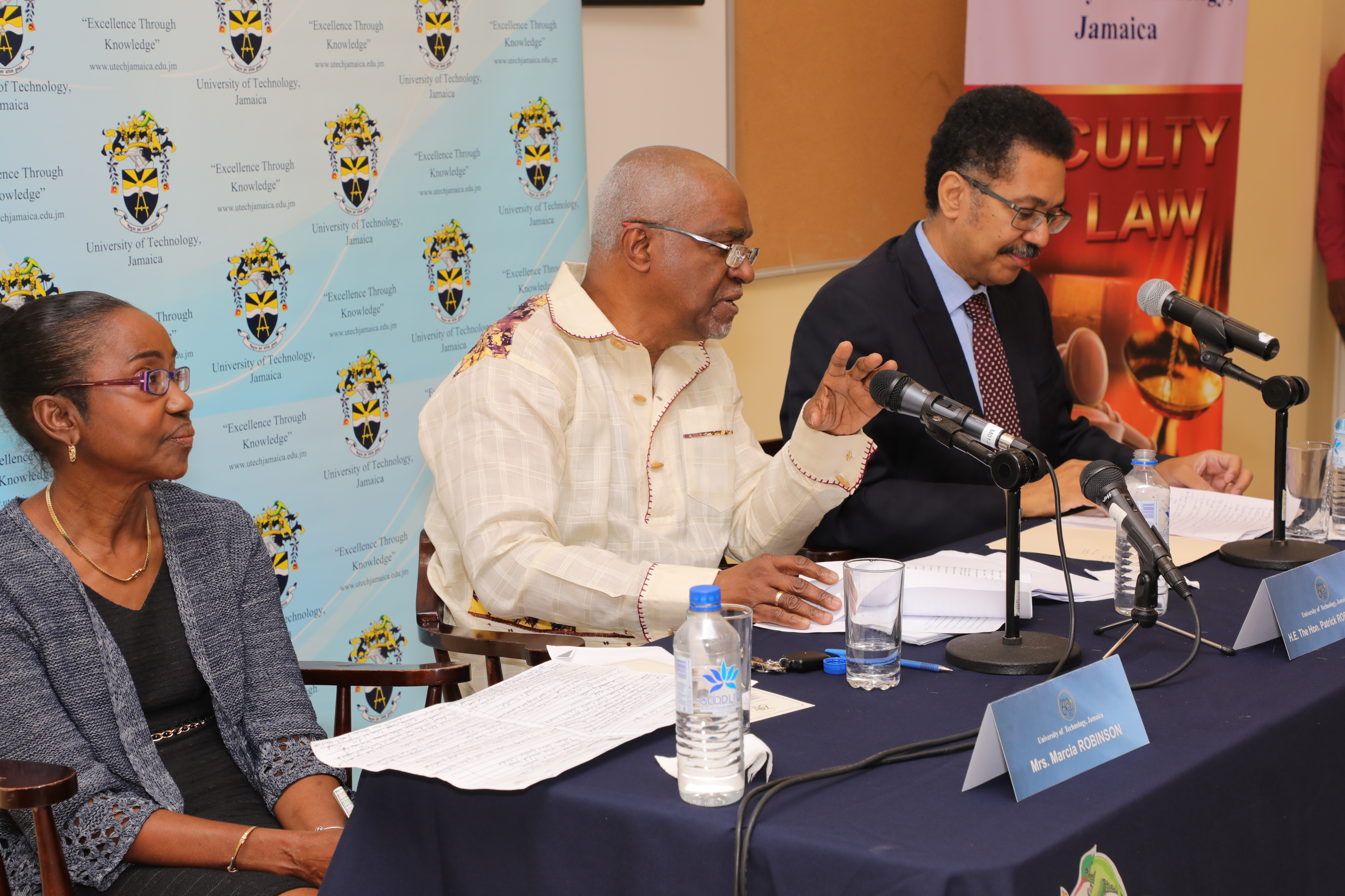 """International Court of Justice Judge Patrick Robinson Argues for """"Qualification of the Rule Against Double Jeopardy"""" at UTech, Ja. Distinguished Lecture"""