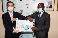 Japanese Ambassador to Jamaica Pays Courtesy Call on UTech, Jamaica