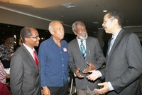 President Vasciannie Hosts Reception for UTech, Ja. Alumni