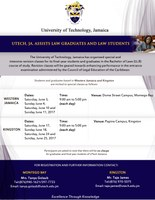 Revision Classes for UTech, Jamaica Law Students