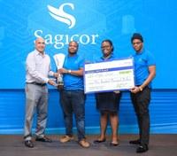 Students Shine at Sagicor Innovation Challenge