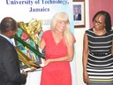 UTech, Jamaica Expresses Appreciation to Denise Herbol, Outgoing USAID Mission Director