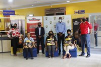 UTech, Jamaica Students Receive Care Packages from Mighty Malt through the Grace Kennedy Foundation