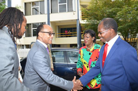 UTech, Jamaica Welcomes  His Imperial Highness (HIH)Prince Ermias Sahle Selassie
